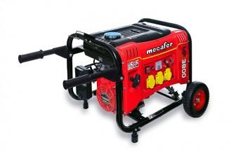 MECAFER 450138 MF3800 : votre groupe électrogène 3500 W sur roues